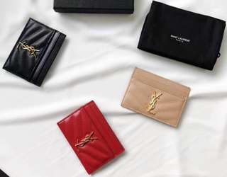 Ysl card case / card holder