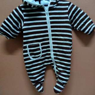 Sleepsuit tebal 3-6 month
