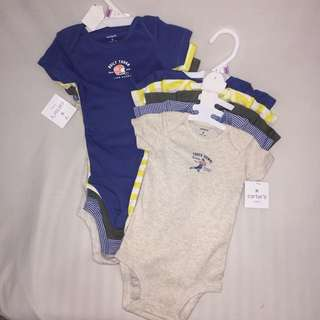 "Carter's 5 pc. bodysuit ""Touchdown"""