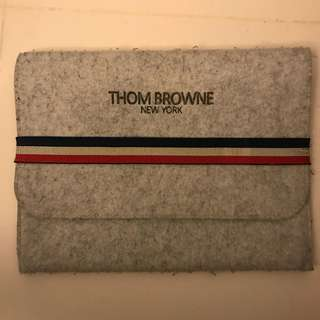"THOM BROWNE 13"" inch Laptop / Macbook Bag / Case"