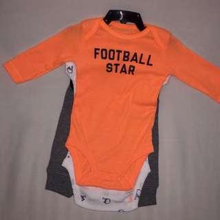 "Carter's 3 pc. Set ""Football star"""