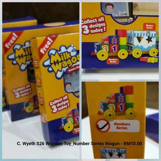 Wooden Toys - Milk Wagoon (number series) #Bajet20