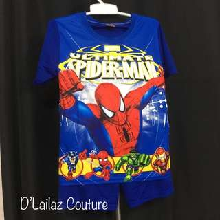 Spiderman Navy Blue Pants Set XXL last 2 pcs