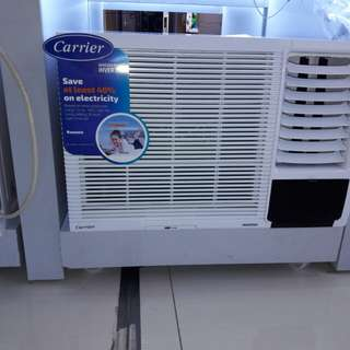 Carrier aircon inverter window type