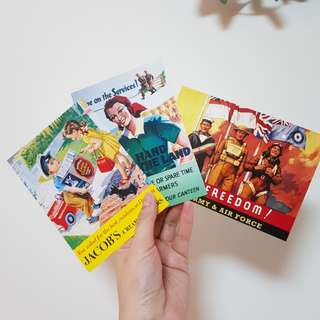 英國復古明信片
