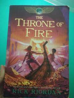 BOOK TWO (The Kane): THE THRONE OF FIRE