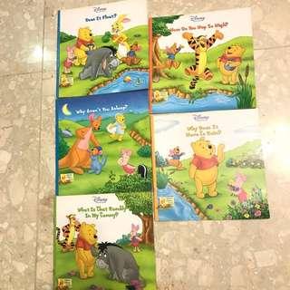 Disney Winnie The Pooh book set