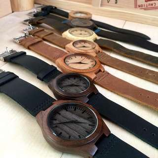 Classic Bamboo couple watches