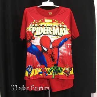 Spiderman Red 4XL fits 10-12yrs old last pc