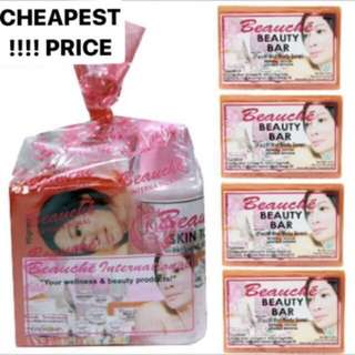 Beauche Set w/ 4 Extra Beauty Bar Soaps