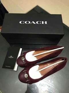 Coach Leila wine shoes