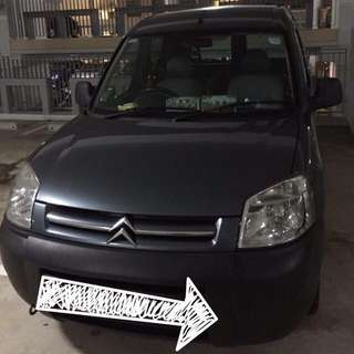 Manual Citroen Berlingo for Rent