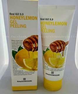 Honey and Lemon Gel Peeling