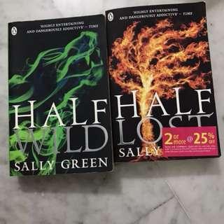 Book 2 & 3 in the Half Bad Trilogy - Half Wild & Half Lost
