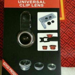 UNIVERSAL CLIP LENS 3 IN 1 - Silver