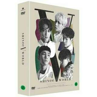 SHINEE WORLD V IN SEOUL DVD