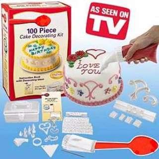 100 pieces Cake Decorating Set