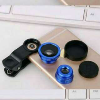 UNIVERSAL CLIP LENS 3 IN 1 - BLUE COLOUR