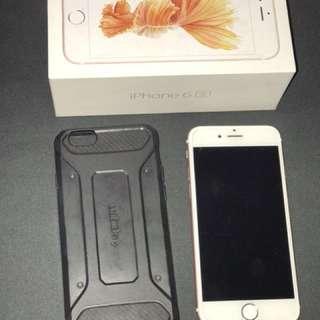 iPhone 6S 128GB ROSE GOLD FULLSET ex INTER