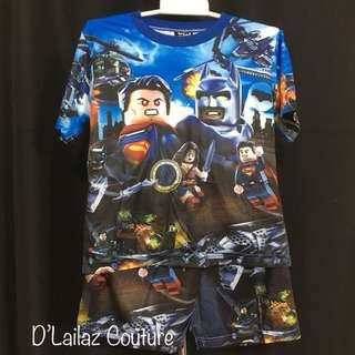 Batman Lego Pants Set last pc M
