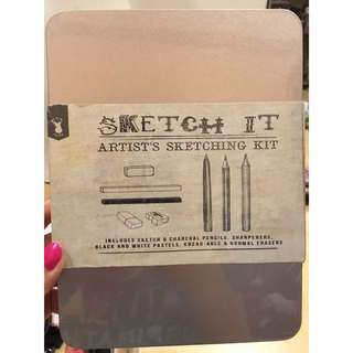 TYPO Sketch it! Artist's sketching Kit!