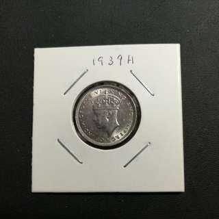 香港一毫 1939