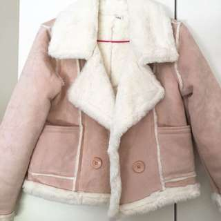 Brand New Korean style Dusty Pink Jacket