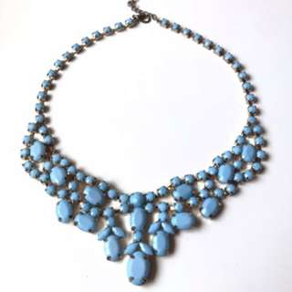 FOREVER21 Blue Stone Necklace