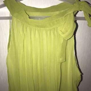 Apple Green Sexy Elegant Top