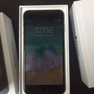 SALE iphone 6 16gb spacegray gpplte complete package with free SIM