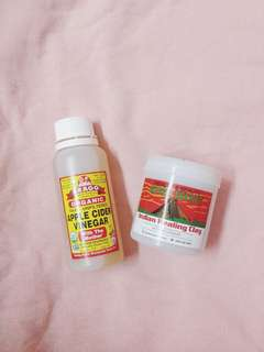 Aztec Secret Clay Mask & Apple Cider Vinegar bragg