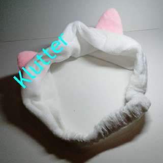Klutter $8 - White Cat Ears Hairbands Hair Bands Head Accessories Girls Ladies