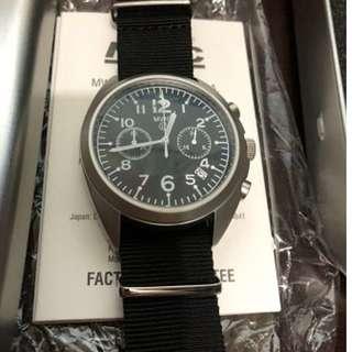 全新德國MWC 軍用石英計時手錶