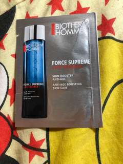 Biotherm homme sample for man