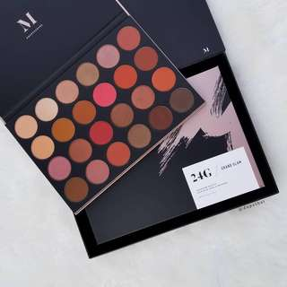 💄 Morphe brushes cosmetics 24G GRAND GLAM Makeup Eyeshadow Palette