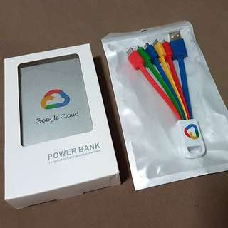 NEW GOOGLE CLOUD POWER BANK 4000MAH