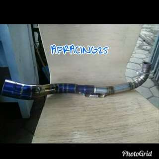 aerox blue exhaust neck