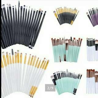 12pcs Professional beauty brushes