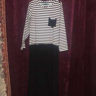 PRELOVED baru Longdress salur