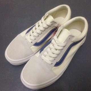 🚚 Vans Old Skool 藍線