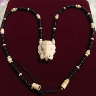 Necklace for amulet
