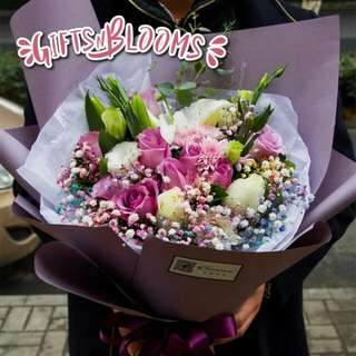 Special Love Bouquet Hers Fresh Flower V15 - MWXXM