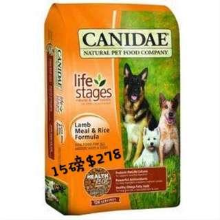 🔻Canidae 羊肉紅米配方乾狗糧   🔻15磅$278  🔹Canidae年長/低熱量配方狗糧 🔹30磅裝 $448