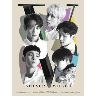 <<代購>>SHINee- SHINee World Tour V In Seoul DVD