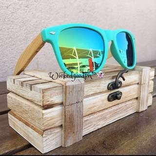 Handmade bamboo Polarized Shades Wooden Sunglasses for the modern Stylish Women