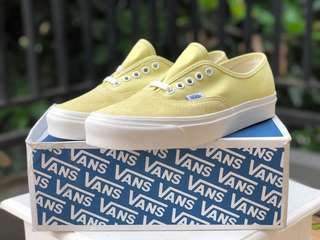 Vans OG Authentic LX Yellow