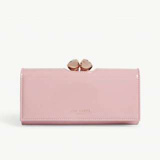 (兩色)TED BAKER Matinee patent leather wallet