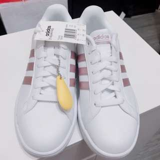 adidas CF ADVANTAGE 玫瑰金