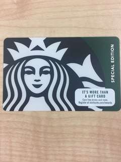 Starbucks Gift Card Green Siren