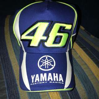 Brand New Yamaha Valentino Rossi The Doctor Edition Cap 46 Factory Racing Cap